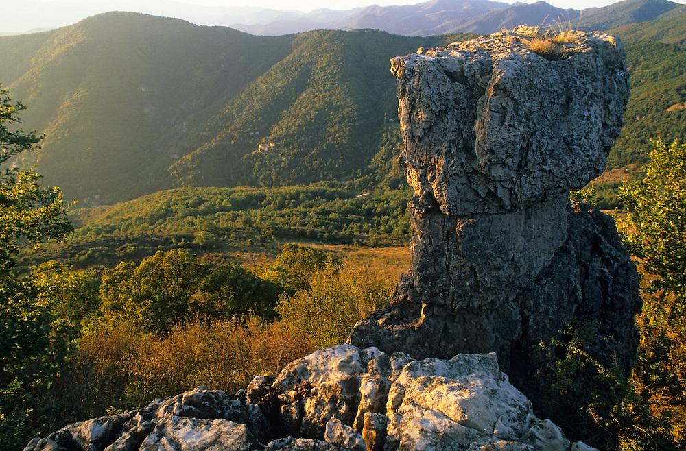 France, languedoc Roussillon, Gard, Cévennes, Cevennes, vallée du Recodier