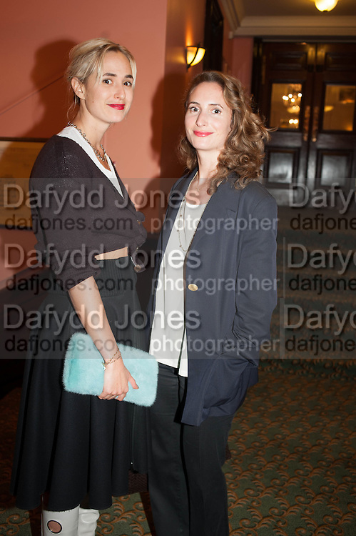 ELISABETH VON THURN UND TAXIS; ALEXANDRA SCHIFFER, Opening of Morris Lewis: Cyprien Gaillard. From Wings to Fins, Sprüth Magers London Grafton St. London. Afterwards dinner at Simpson's-in-the-Strand hosted by Monika Spruth and Philomene Magers.