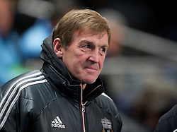 03.01.2012, Etihad Stadion, Manchester, ENG, PL, Manchester City vs FC Liverpool, 19. Spieltag, im Bild Liverpool's manager Kenny Dalglish // before the football match of English premier league, 19th round, between Manchester City and FC Liverpool at Etihad Stadium, Manchester, United Kingdom on 2012/01/03. EXPA Pictures © 2012, PhotoCredit: EXPA/ Propagandaphoto/ David Rawcliff..***** ATTENTION - OUT OF ENG, GBR, UK *****