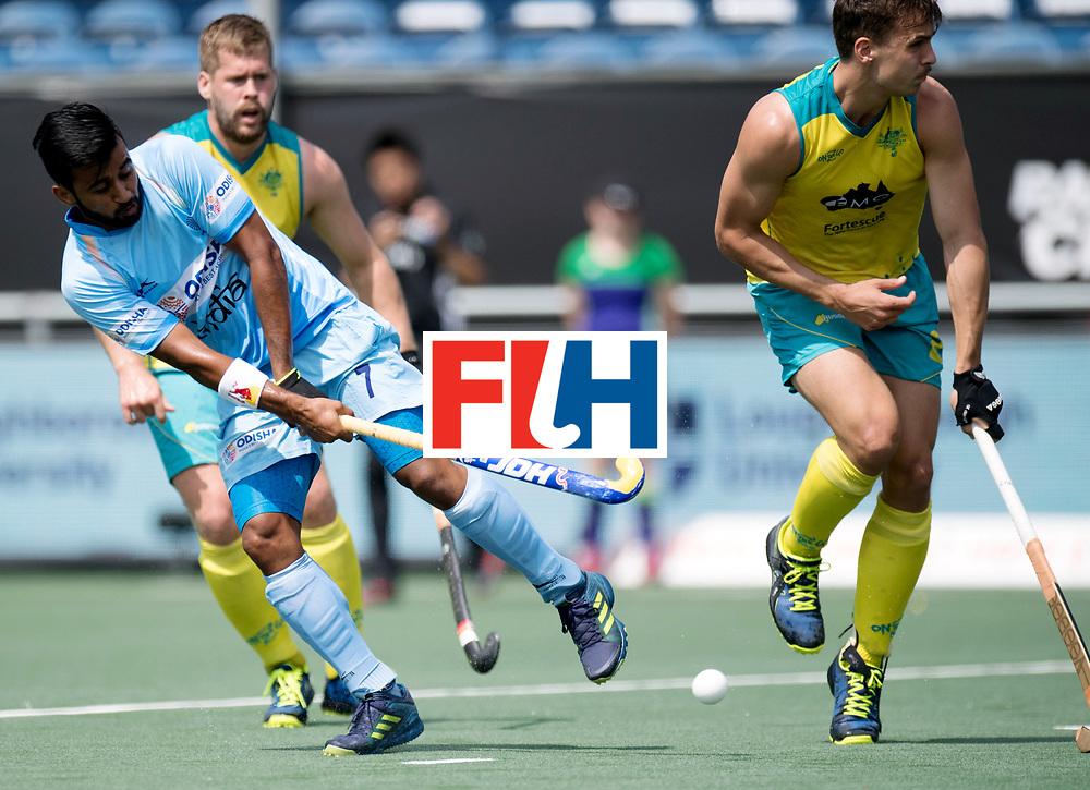 BREDA - Rabobank Hockey Champions Trophy<br /> India - Australia<br /> Photo: Manpreet Singh.<br /> COPYRIGHT WORLDSPORTPICS FRANK UIJLENBROEK