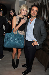 PIXIE LOTT and MATTHEW HERMER at a party to launch Senkai - London's first modern Japanese-inspired restaurant at 65 Regent Street, London on 26th October 2011.
