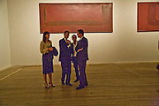 SAMANTHA CAMERON;  SIR NICHOLAS SEROTA; CURATOR: ACHIM BORCHARDT-HUME; DAVID CAMERON; Mark Rothko private view. Tate Modern. 24 September 2008 *** Local Caption *** -DO NOT ARCHIVE-© Copyright Photograph by Dafydd Jones. 248 Clapham Rd. London SW9 0PZ. Tel 0207 820 0771. www.dafjones.com.