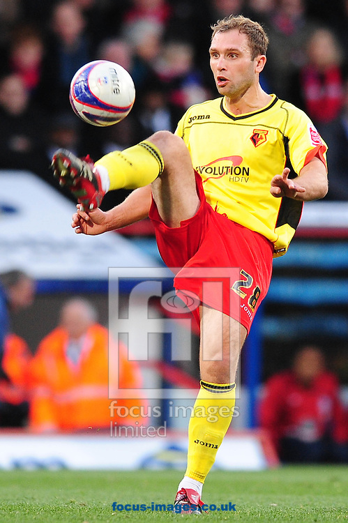 London - Saturday, November 28th, 2009: John Eustace of Watford during the Coca Cola Championship match at Selhurst Park, London. ..(Pic by Alex Broadway/Focus Images)