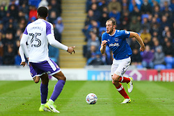 Matthew Clarke of Portsmouth on the attack - Mandatory by-line: Jason Brown/JMP - 03/09/2017 - FOOTBALL - Fratton Park - Portsmouth, England - Portsmouth v Rotherham United - Sky Bet League Two
