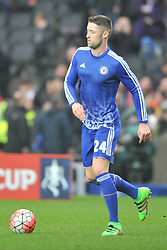GARY CAHILL CHELSEA,  MK Dons v Chelsea,  FA Cup 4th Round Stadium MK Sunday 31st January 2016