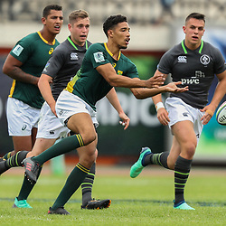 Gianni Lombard of South Africa U20 during the U20 World Championship match between Ireland and South Africa on June 3, 2018 in Narbonne, France. (Photo by Manuel Blondeau/Icon Sport)