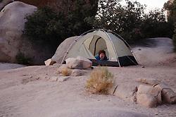 Joshua tree National Park campsite