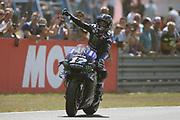 Race winner #12 Maverick Vinales, Spanish: Movistar Yamaha during the Motul Dutch TT MotoGP, TT Circuit, Assen, Netherlands on 30 June 2019.