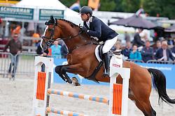 Brinkman Tom (NED) - Dexter R<br /> 5jarige Springpaarden<br /> KWPN Paardendagen Ermelo 2013