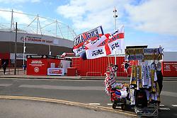 England merchandise on sale outside the Stadium of Light - Mandatory by-line: Matt McNulty/JMP - 27/05/2016 - FOOTBALL - Stadium of Light - Sunderland, United Kingdom - England v Australia - International Friendly