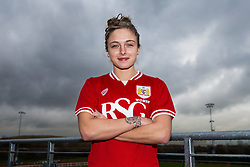 Megan Alexander of Bristol City Women's FC - Mandatory byline: Rogan Thomson/JMP - 11/01/2016 - FOOTBALL - Stoke Gifford Stadium - Bristol, England - Bristol City Women's FC New Signings.