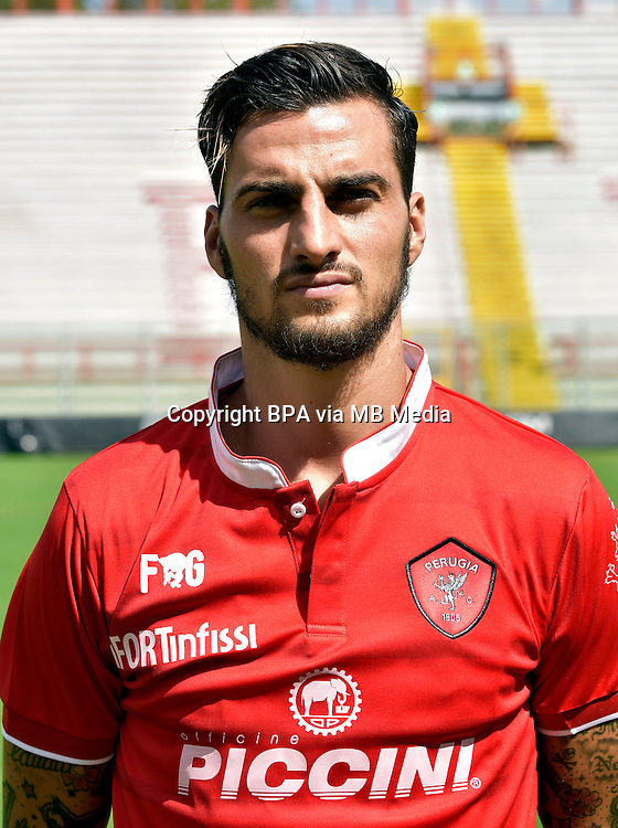 Italian League Serie B_2015-2016 / <br /> ( AC Perugia 1905 ) - <br /> Davide Lanzafame