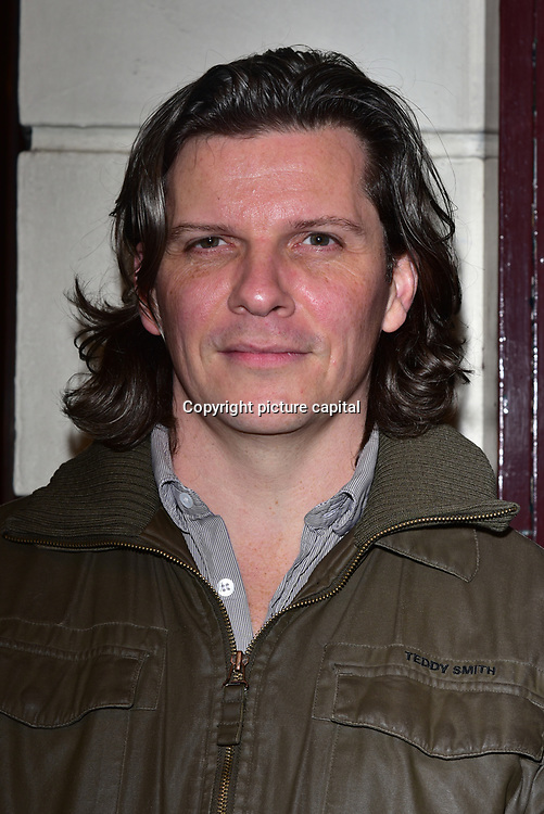 London, England, UK. 23 January 2018. Nigel Harman Arrivers at Beginning - press night at Ambassadors Theatre.