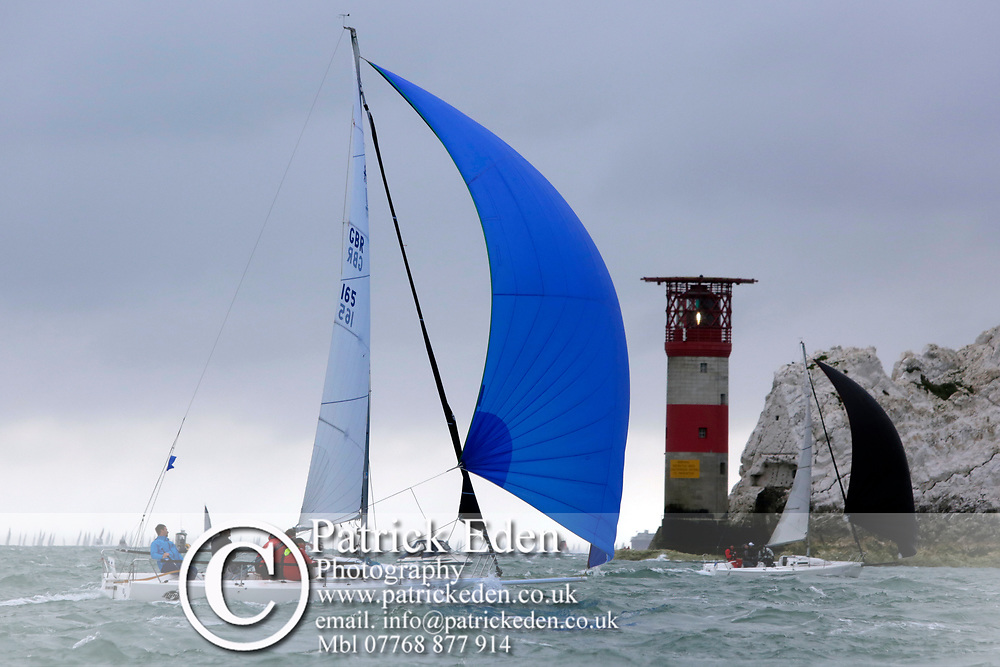 2017, July 1, Round the island Race, Round the Island Race, UK, Isle of Wight, Cowes, AQUA J, GBR 165,