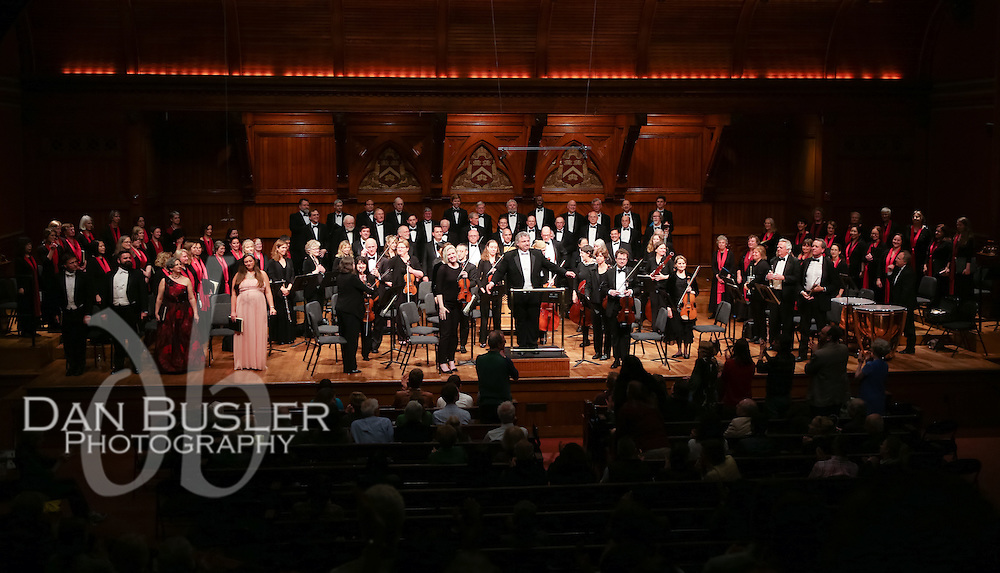 Masterworks Chorale - Mass in B Minor - performed at Sanders Theatre in Cambridge MA on May 13, 2016 - Conducted by Steven Karidoyanes