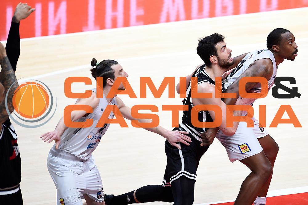 Knox Justin Forray Toto Ricci Giampaolo<br /> EUROCUP<br /> Segafredo Virtus Bologna -<br /> Dolomiti Energia Trento<br /> BOLOGNA 2020/01/29<br /> Foto:A.Giberti/Ciamillo