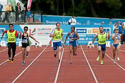 YILMAZER Oznur, VIDOT Elvina, KANTZA Paraskevi, 2014 IPC European Athletics Championships, Swansea, Wales, United Kingdom