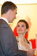 022014 Spanish Royals Inaugurate ARCO Art Fair 2014