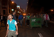 Young Egyptian protesters, some carrying sticks and glass bottles as wespons, march down a main Cairo avenue during continuing January 26, 2011 demonstrations in downtown Cairo, Egypt. A series of unprecedented demonstrations have broken out across Egypt for the past two days, inspired by the revolution in Tunisia, and intended to spark a similar movement in Egypt. (Photo by Scott Nelson)