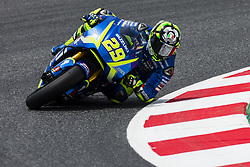 June 9, 2017 - Barcelona, Catalonia, Spain - 29 Andrea Iannone from Italy of Team Suzuki Ecstar (Suzuki) during the Monter Energy Catalonia Grand Prix, at the Circuit de Barcelona-Catalunya on June 9 of 2017. (Credit Image: © Xavier Bonilla/NurPhoto via ZUMA Press)