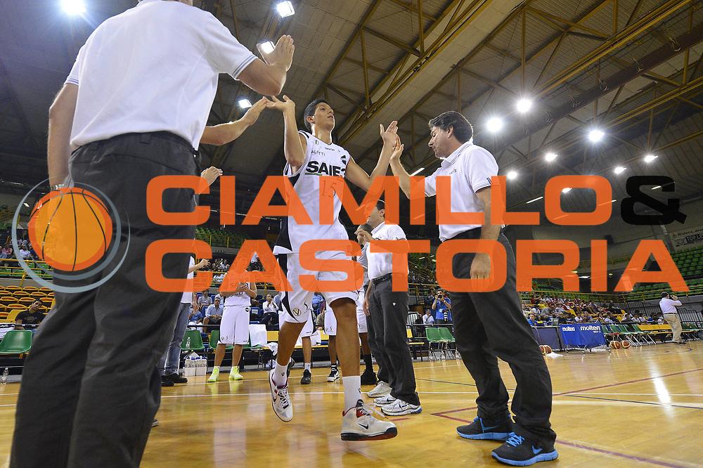 DESCRIZIONE : Torneo EA7 SAIE3 EA7 Olimpia Milano-SAIE 3 Virtus Bologna<br /> GIOCATORE : Simone Fontecchio<br /> CATEGORIA : <br /> SQUADRA : SAIE 3 Virtus Bologna<br /> EVENTO : Torneo EA7 SAIE3<br /> GARA : EA7 Olimpia Milano-SAIE 3 Virtus Bologna<br /> DATA : 09/09/2012<br /> SPORT : Pallacanestro <br /> AUTORE : Agenzia Ciamillo-Castoria/R. Morgano<br /> Galleria : Lega Basket A 2012-2013  <br /> Fotonotizia : Torneo EA7 SAIE3 EA7 Olimpia Milano-SAIE 3 Virtus Bologna<br /> Predefinita :