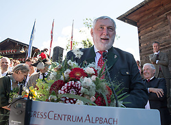 17.08.2014, Kongress, Alpbach, AUT, Forum Alpbach, Tiroltag, im Bild Forum- Alpbach- Präsident Franz Fischler // during the tyrol Day of European Forum Alpbach at the Congress in Alpach, Austria on 2014/08/17. EXPA Pictures © 2014, PhotoCredit: EXPA/ Johann Groder