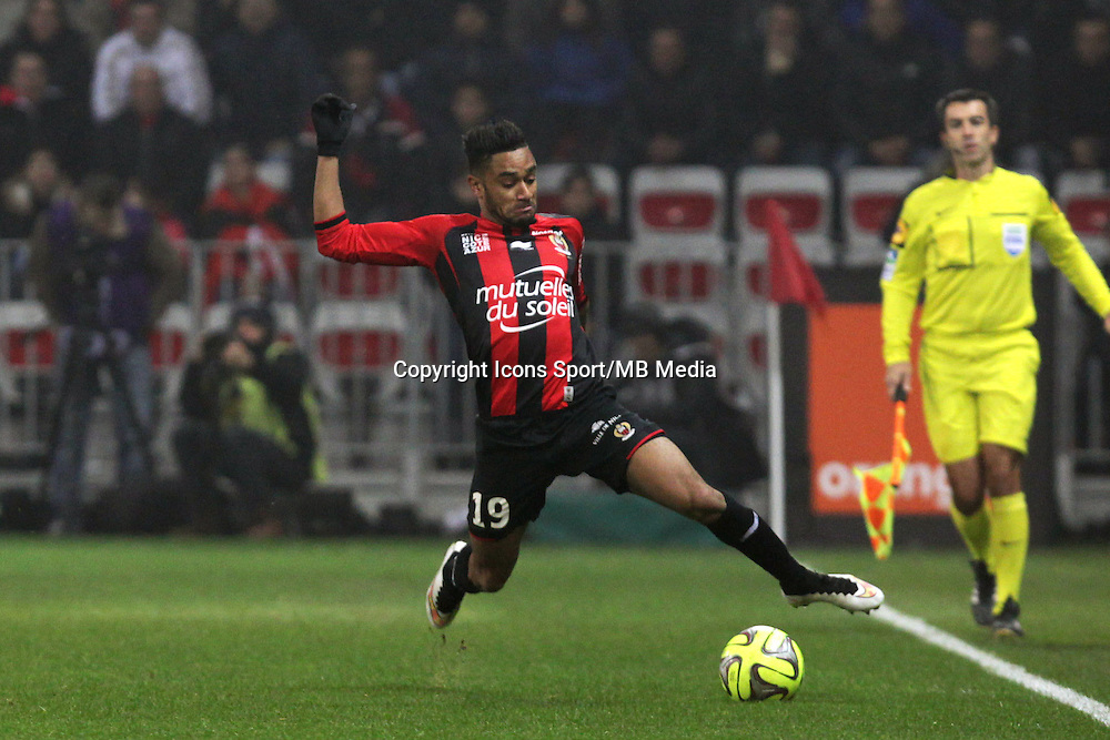 Jordan AMAVI  - 23.01.2015 - Nice / Marseille - 22eme journee de Ligue 1<br />