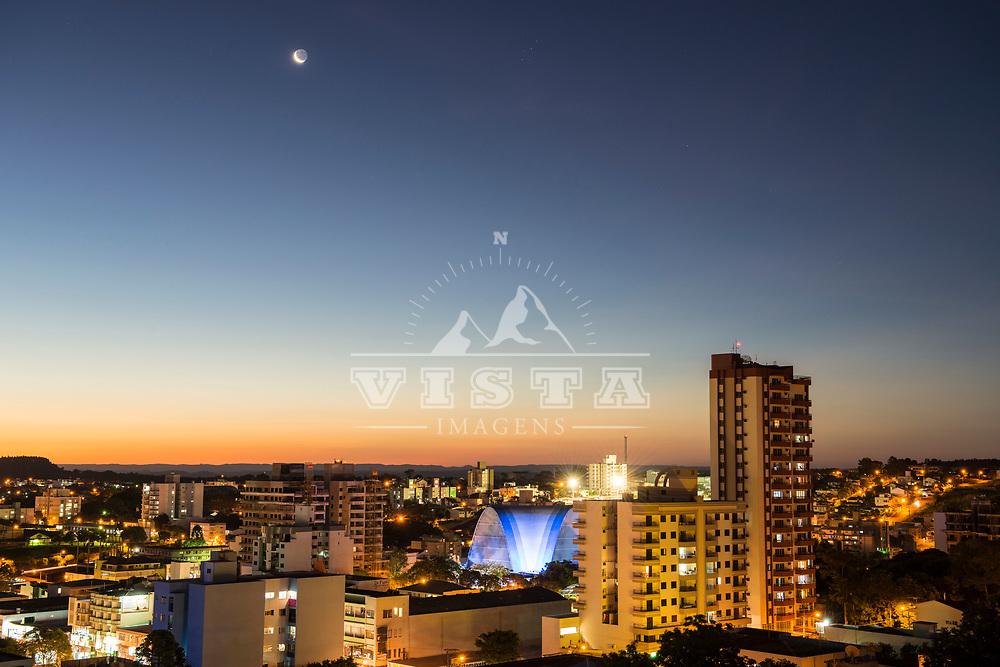 Vista da cidade de São Miguel do Oeste, Santa Catarina - foto de Zé Paiva - Vista Imagens