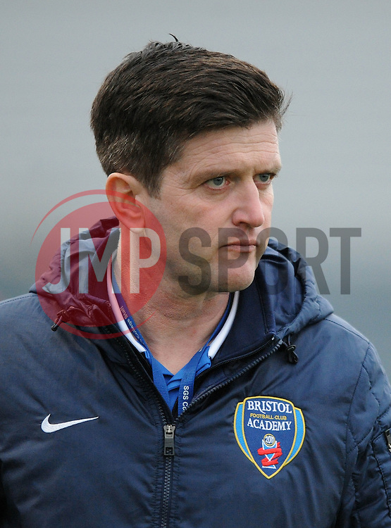 Bristol Academy Womens manager, Dave Edmondson - Photo mandatory by-line: Dougie Allward/JMP - Mobile: 07966 386802 - 02/04/2015 - SPORT - Football - Bristol - SGS Wise Campus - BAWFC v Chelsea Ladies - Womens Super League