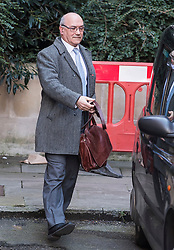 © Licensed to London News Pictures. 12/02/2018. London, UK. Oxfam CEO, Mark Goldring leaves the Department for International Development following a meeting with Secretary of State for International Development Penny Mordaunt to discuss claims of sexual misconduct by its aid workers. Mordaunt wants to hear more from Oxfam about allegations its staff used prostitutes in Haiti in 2011. Photo credit: Ben Cawthra/LNP