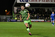 Forest Green Rovers Liam Shephard(2) during the EFL Sky Bet League 2 match between Forest Green Rovers and Carlisle United at the New Lawn, Forest Green, United Kingdom on 28 January 2020.