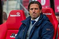 ALKMAAR - 01-04-2017, AZ - FC Groningen, AFAS Stadion, 0-0, FC Groningen trainer/coach Ernest Faber.