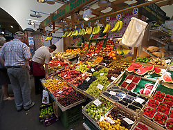 Markthalle food market in Stuttgart Germany