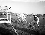 30/01/1953<br /> 01/30/1953<br /> 30 January 1953<br /> Interprovincial Men's Hockey at Londonbridge Road, Dublin. Picture shows Munster v Ulster.