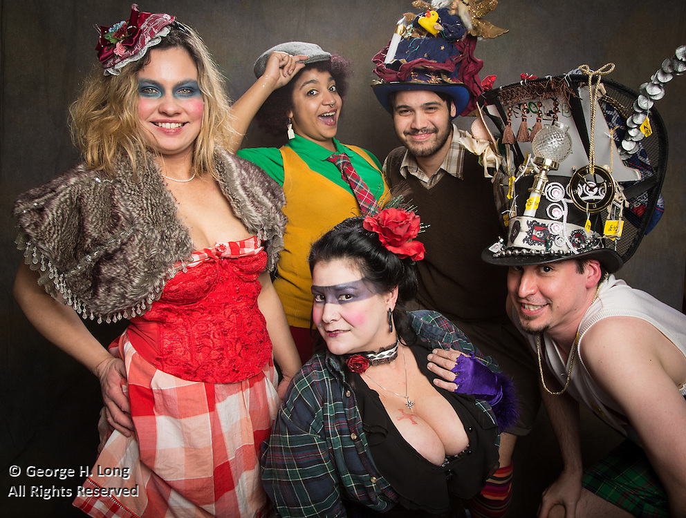 The Radical Faeries' St. Brigid Ball; 2015 Carnival in New Orleans