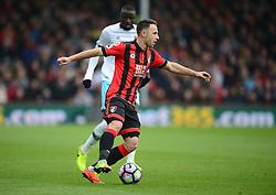 Marc Pugh of Bournemouth- Mandatory by-line: Alex James/JMP - 11/03/2017 - FOOTBALL - Vitality Stadium - Bournemouth, England - Bournemouth v West Ham United - Premier League