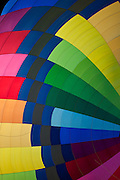 colorful design in the Interior of a hot air balloon