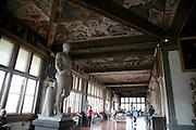 Uffizi halls, Florence, Italy, Florence, Italy