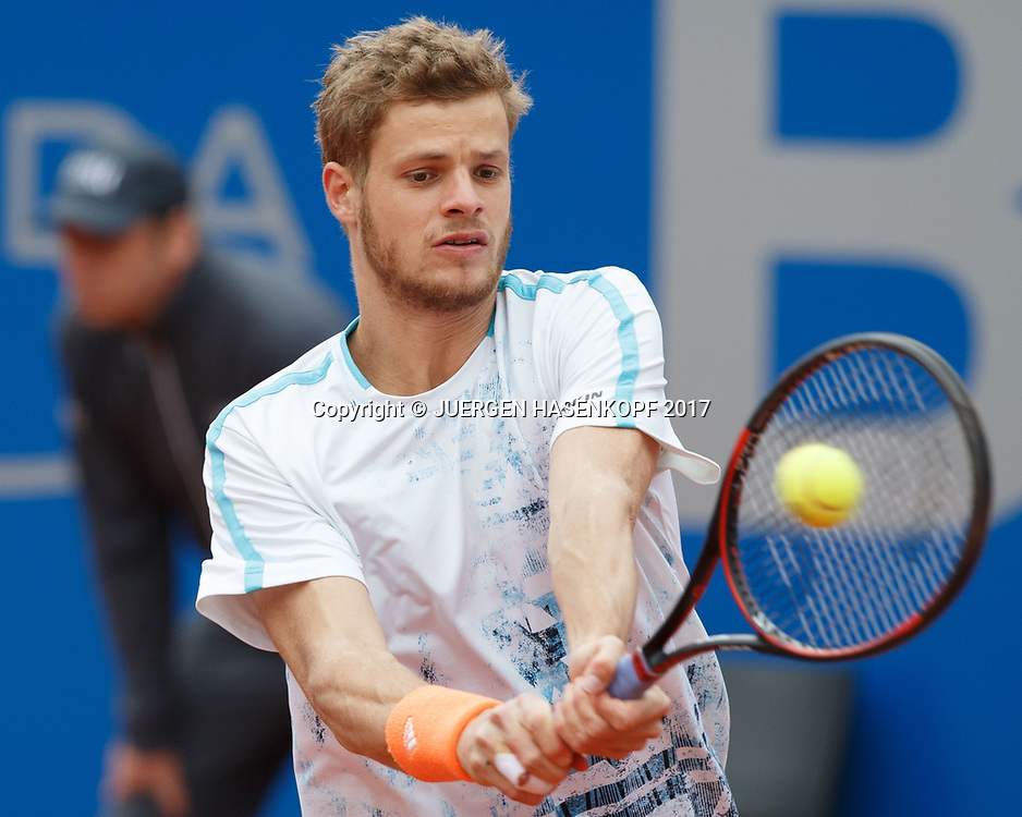 YANNICK HANFMANN (GER)<br /> <br /> Tennis - BMW Open2017 -  ATP  -  MTTC Iphitos - Munich -  - Germany  - 3 May 2017.