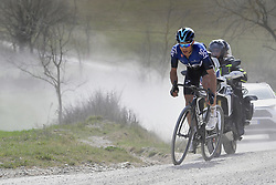 March 9, 2019 - Siena, Italia - Foto LaPresse - Fabio Ferrari.09 Marzo 2019 Siena (Italia).Sport Ciclismo.Strade Bianche 2019 - Gara uomini - da Siena a Siena - 184 km (114,3 miglia).Nella foto: durante la gara.Diego Rosa..Photo LaPresse - Fabio Ferrari.March, 09 2019 Siena (Italy) .Sport Cycling.Strade Bianche 2018 - Men's race - from Siena to Siena - 184 km (114,3 miles).In the pic: during the race.Diego Rosa (Credit Image: © Fabio Ferrari/Lapresse via ZUMA Press)