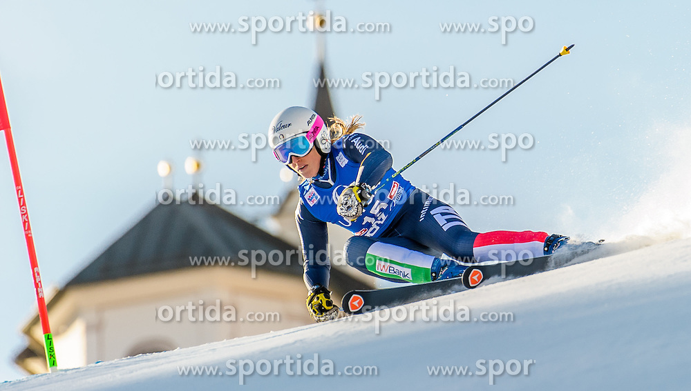 28.12.2015, Hochstein, Lienz, AUT, FIS Ski Weltcup, Lienz, Riesenslalom, Damen, 1. Durchgang, im Bild Nadia Fanchini (ITA) // Nadia Fanchini of Italy during 1st run of ladies Giant Slalom of the Lienz FIS Ski Alpine World Cup at the Hochstein in Lienz, Austria on 2015/12/28. EXPA Pictures © 2015, PhotoCredit: EXPA/ Michael Gruber