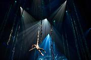 """Cirque du Soleil rehearsing """"Luzia""""."""