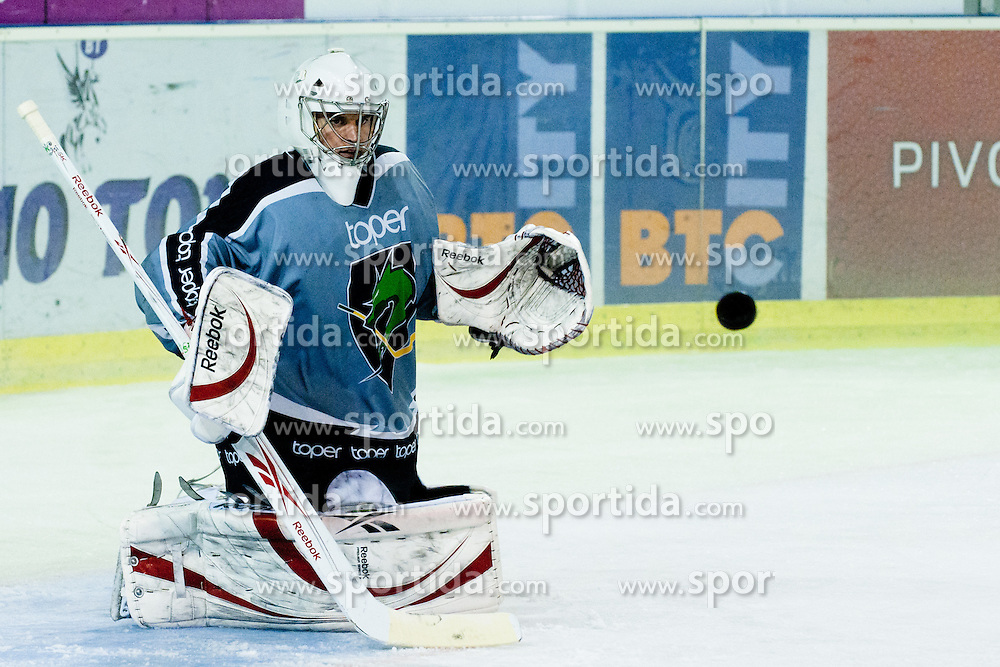 Jean-Philippe Lamoureux at first practice for HDD Tilia Olimpija ice hockey players in season 2011/12 on August 1, 2011, in Hala Tivoli, Ljubljana, Slovenia. (Photo by Matic Klansek Velej / Sportida)