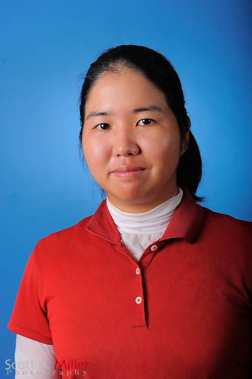 Hye-Min Kim during a portrait session prior to the second stage of LPGA Qualifying School at the Plantation Golf and Country Club on Sept. 24, 2011 in Venice, FL...©2011 Scott A. Miller