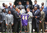 The Baltimore Ravens at the White House