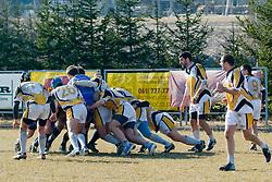 at rugby match between RK Ljubljana and KBRK Belgrade in RRC League, March 12, 2011 at Stanezice, Ljubljana, SLO. (Photo By Matic Klansek Velej / Sportida.com)