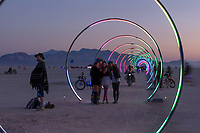 Sonic Runway by: Lead Artist: Rob Jensen, Co-Lead: Warren Trezevant from: Oakland, CA year: 2018 My Burning Man 2018 Photos:<br />