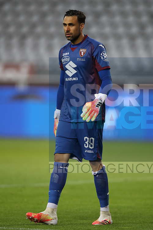 Torino FC's Italian goalkeeper Salvatore Sirigu during the Serie A match at Stadio Grande Torino, Turin. Picture date: 20th June 2020. Picture credit should read: Jonathan Moscrop/Sportimage