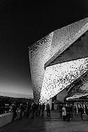 Paris 19th. Philharmonie of Paris by the architect Jean Nouvel