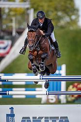 Greve Willem, (NED), Eldorado vd Zeshoek Tn<br /> Akita Drilling Cup<br /> Spruce Meadows Masters - Calgary 2015<br /> © Hippo Foto - Dirk Caremans<br /> 10/09/15